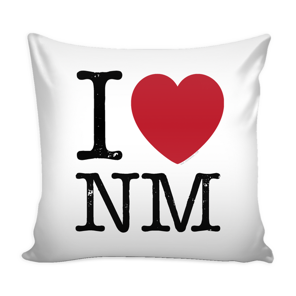 I Love New Mexico Pillow Case