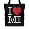 I Love Michigan Tote Bag