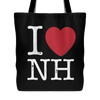 I Love New Hampshire Tote Bag