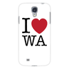 I Love Washington Phone Case Galaxy S4