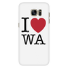 I Love Washington Phone Case Galaxy S7