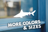Shark Vinyl Sticker Decal