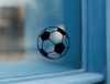 Soccer Ball Vinyl Sticker Decal - Soccer Ball Decal Sticker