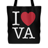 I Love Virginia Tote Bag