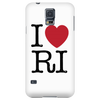 I Love Rhode Island Phone Case