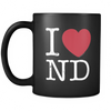 I Love North Dakota Mug