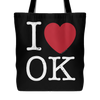I Love Oklahoma Tote Bag