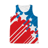 Stars and Stripes 4th of July All Over Tank Top