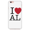 I Love Alabama iPhone Case