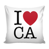 I Love California Pillow Case