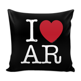 I Love Arkansas Pillow Case