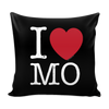 I Love Missouri Pillow Case