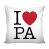 I Love Pennsylvania Pillow Case