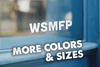WSMFP Vinyl Sticker Decal