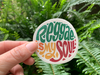 Reggae is My Soul Vinyl Sticker,VSCO Water Bottle,Hydro Flask,Best Friend Gift, Stickers,Cute Stickers,Water Bottle Sticker, Macbook Sticker