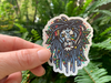 Lion Reggae Sticker,VSCO Stickers,Laptop Decals,Cute Stickers,Water Bottle Stickers,Macbook Stickers,Hydro Flask,Laptop Sticker,Best Friend Gift