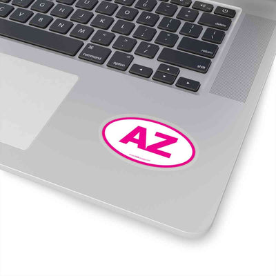 Arizona AZ Euro Oval Sticker PINK