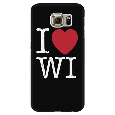I Love Wisconsin Phone Case