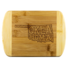 Oklahoma Wood Cutting Board