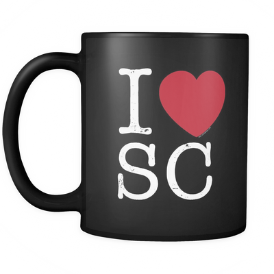 I Love South Carolina Mug
