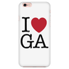 I Love Georgia Phone Case