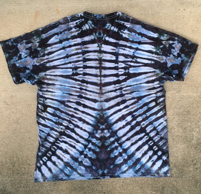 Tie Dye Short Sleeve Tshirt, 2X Large