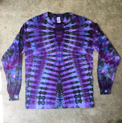 Tie Dye Long Sleeve T-shirt - Large