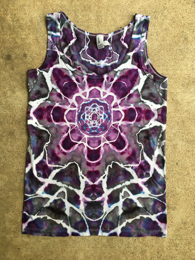 Tie Dye Womens Tank Top - X Small