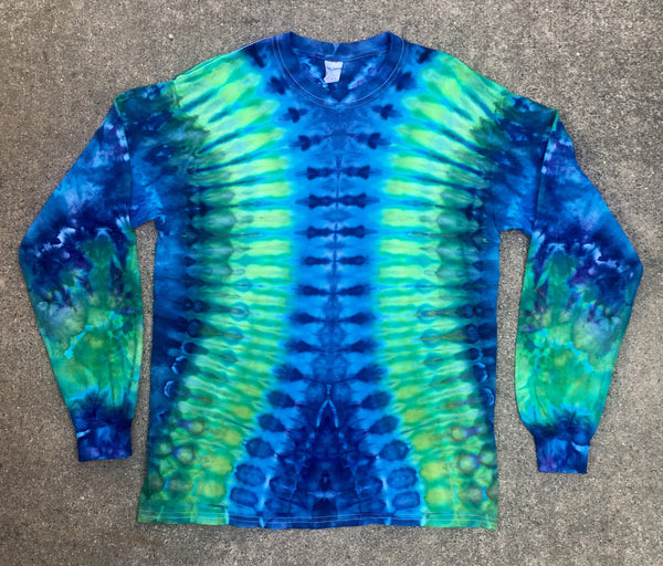 Tie Dye Long Sleeve T-shirt - Medium