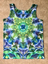 Tie Dye Womens Tank Top - XLarge