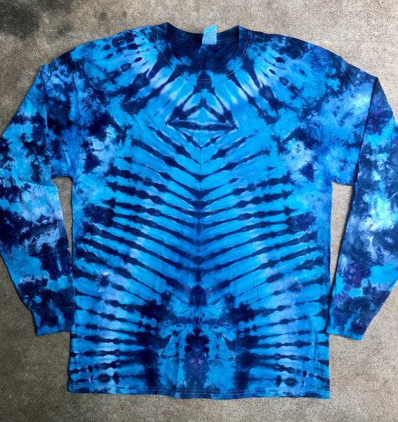 Tie Dye Long Sleeve T-shirt - XLarge