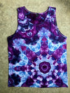 Tie Dye Womens Tank Top - Large