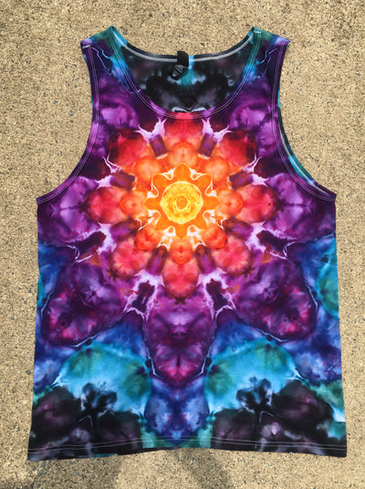 Tie Dye Tank Top - Large