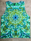 Tie Dye Womens Tank Top - 2XLarge