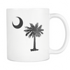 South Carolina Palmetto Moon BLACK