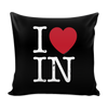 I Love Indiana Pillow Case