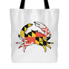 Maryland Flag Crab Tote Bag