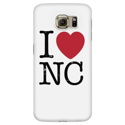 I Love North Carolina Phone Case