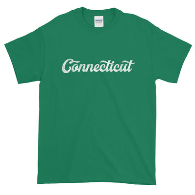 Connecticut Distressed Script Short-Sleeve T-Shirt