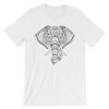Yoga. Unisex short sleeve t-shirt. GANESH ELEPHANT