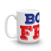 4th of July. Mug. BORN FREE