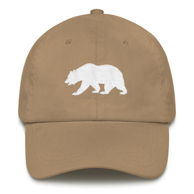 California Bear Embroidered Bear Dad Hat
