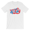 Happy 4th of July - 4th of July Unisex Short Sleeve T-Shirt.