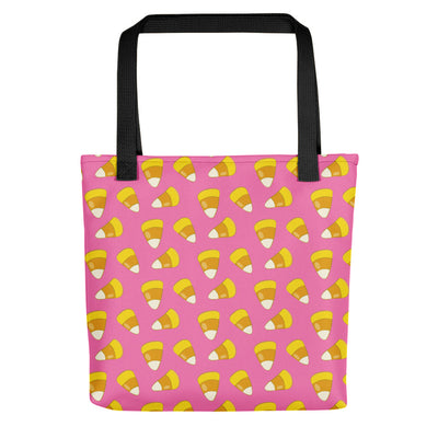 Halloween Candy Corn PINK Tote bag