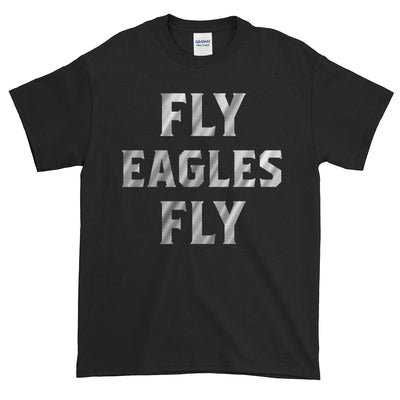 Fly Eagles Fly Distressed Font Short-Sleeve T-Shirt