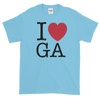 I Love Georgia Short sleeve t-shirt