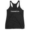 Yoga Women's tank top. THANKFUL.