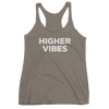 Yoga Women's tank top. HIGHER VIBES