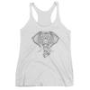 Yoga. Women's tank top. GANESH ELEPHANT