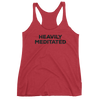Yoga Women's tank top. HEAVILY MEDITATED